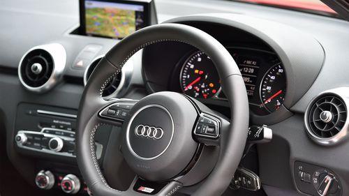 2015 Audi A1 S line interior