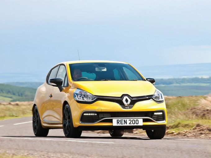 Renault Clio RS200 front