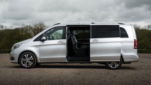 2015 Mercedes-Benz V-Class sliding door