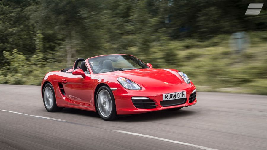 porsche boxster 981 convertible 2012 review auto trader uk. Black Bedroom Furniture Sets. Home Design Ideas