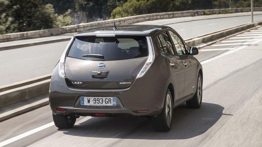 Nissan Leaf ride