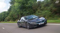 2014 BMW i8 ride